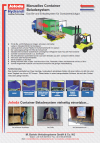 Flyer Manuelles Container Beladesystem